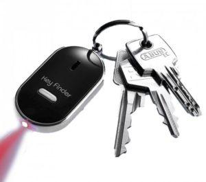 Met een sleutel-vinder altijd uw sleutels kunnen vinden.