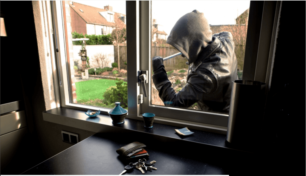 Opgelet voor inbrekers