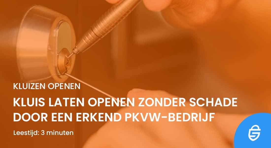Slotenmaker Snel Oranje #1